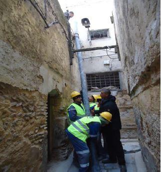 Amélioration du rendement du réseau d'eau potable de la ville de Fès